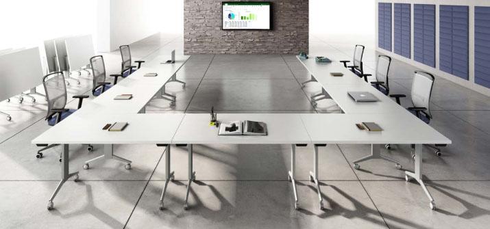 Tables pliantes de bureau